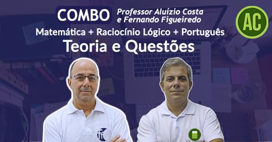 Português + Matemática + Raciocínio Lógico